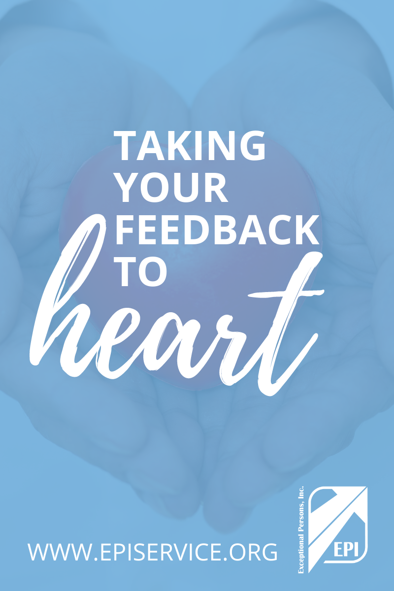 Taking Your Feedback to Heart
