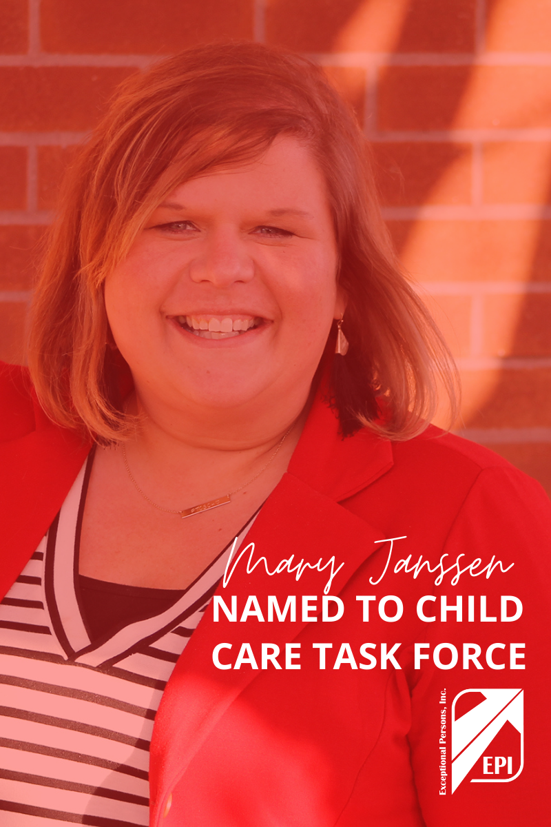Mary Janssen Named to Child Care Task Force