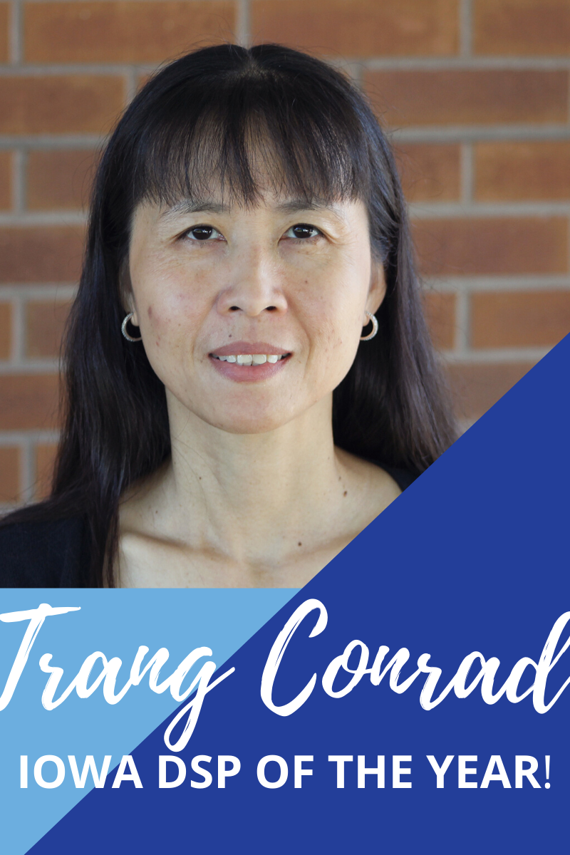 Trang Conrad: 2020's Iowa DSP of the Year